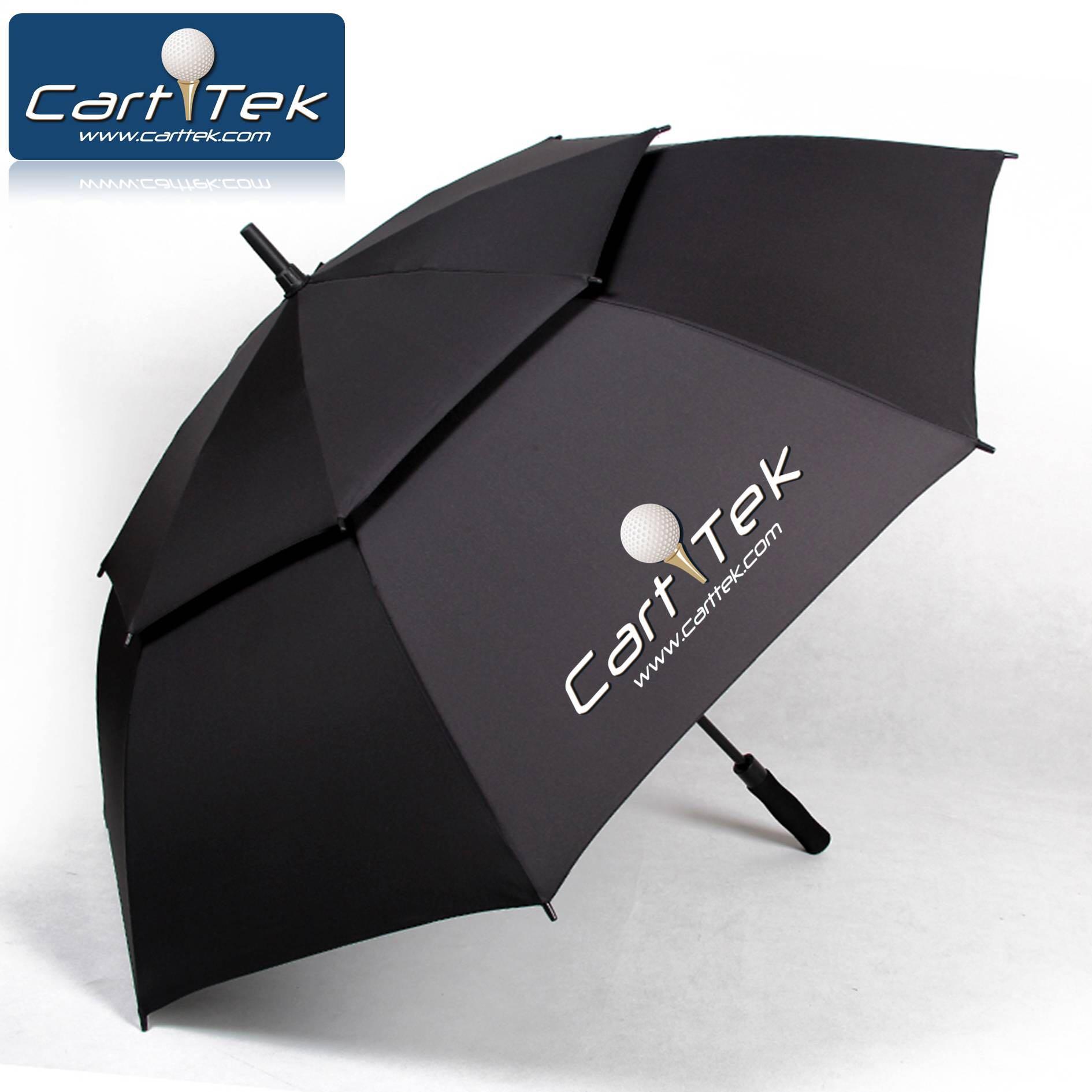 纤维破风防紫外线高尔夫球伞